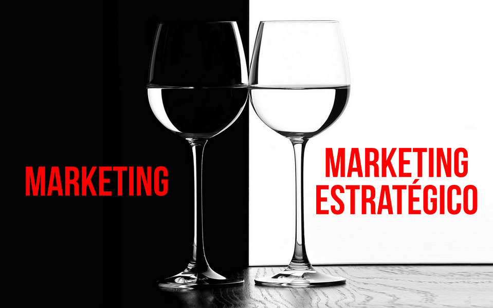 Diferencia entre marketing y marketing estratégico
