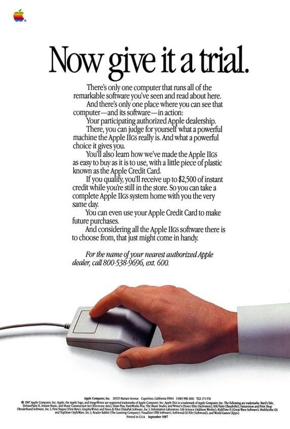 publicidad apple mac
